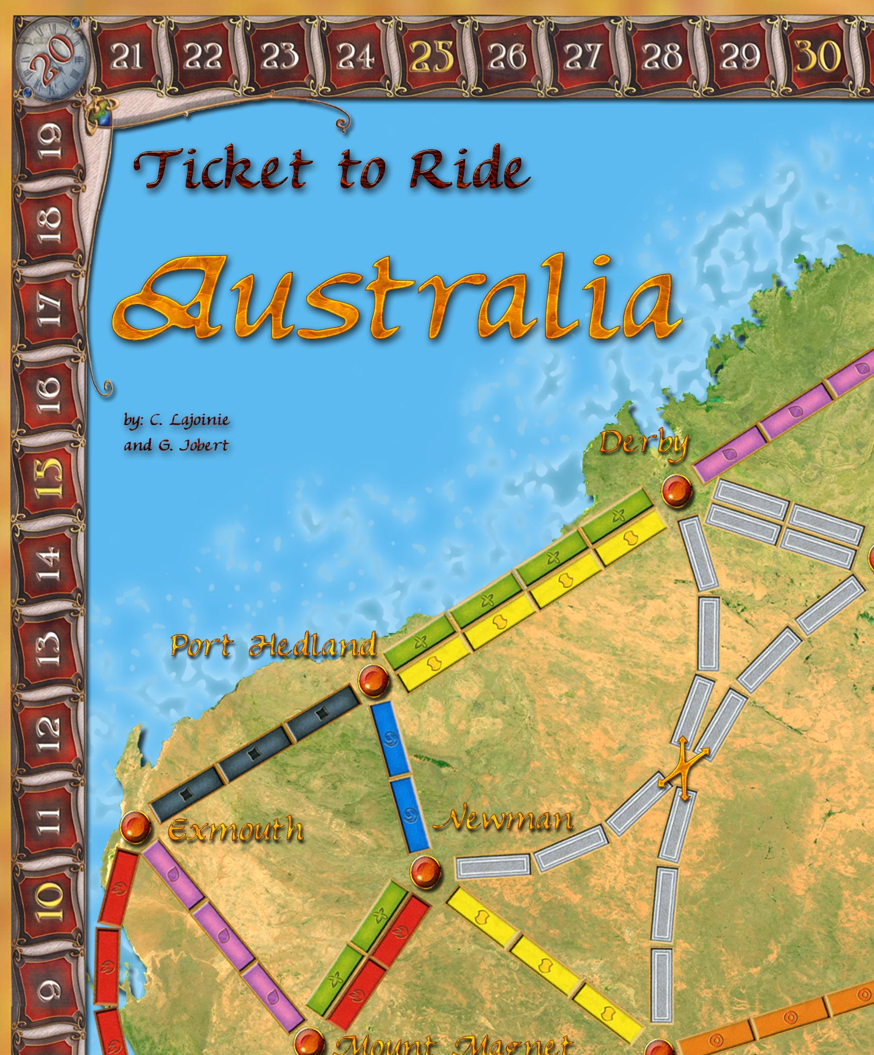 Ticket to Ride - Australia!